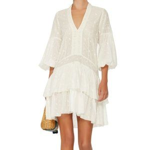Ulla Johnson Jaclyn Dress in Pearl (White)